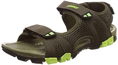 Power Men's Cosmos Green Beach Thong Sandals-7 UK/India (41EU) (8617998)