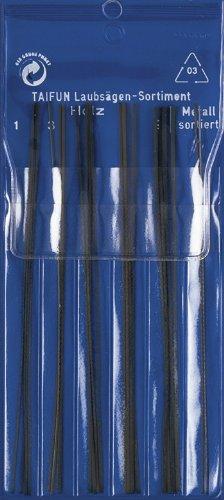 Pebaro 133 - Laubsägeblätter-Sortiment für Holz und Metall
