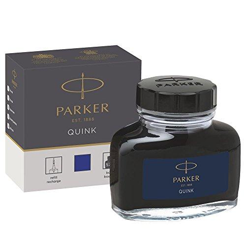 Parker tintero tinta líquida Quink plumas estilográficas