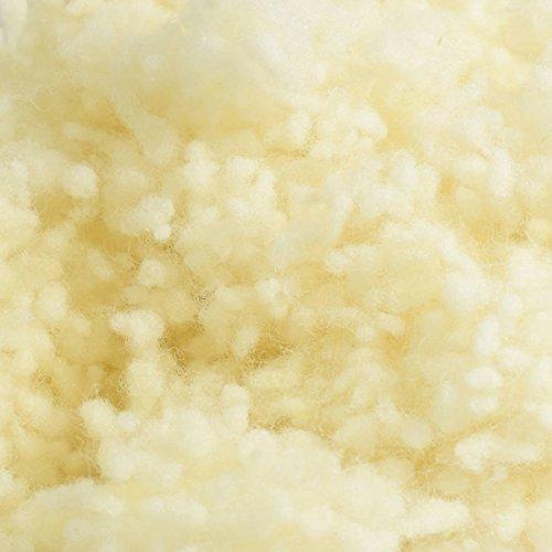 4betterdays.com NATURlich leben! 100% Reine Schafschurwolle/Schafwolle zum Nachfüllen für Kissen 1 kg - Handgemacht in Österreich