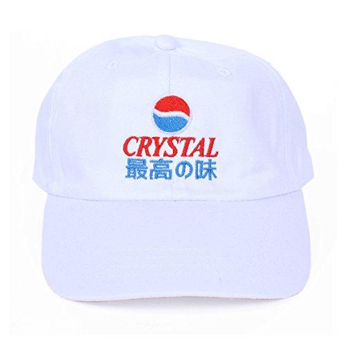 Preisvergleich Produktbild Crystal Pepsi Japanese 6 Panel Dad Mütze