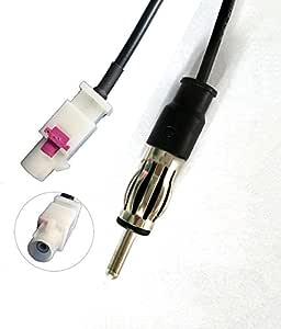 Adaptateur D/'Antenne Fakra DIN Connecteur CABLE Fiat Peugeot Seat Skoda BMW VW