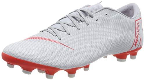 Nike Herren Mercurial Vapor XII Academy MG Fußballschuhe, grau/rot, 42 EU