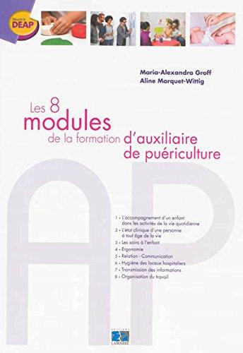 Les 8 modules de la formation d'auxiliaire de puériculture par Maria-Alexandra Groff