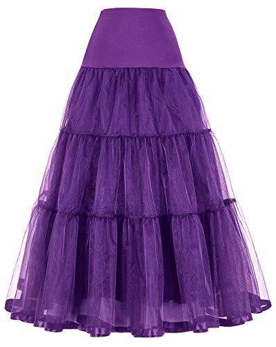 Jack Smith Reifrock Unterrock Petticoat Fuer Abendkleid Brautkleid Violett M CL010421-8