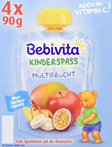 Preisvergleich Produktbild Bebivita Kinder-Spaß Multifrucht,  4 x 90 g