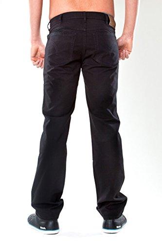 Revils Jeans Hose 302 Classic Stretch, V-1703, black rinse washed black rinse washed