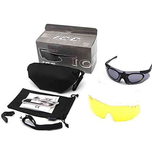 Cloud Männer und Frauen Sportbrillen Nachtsichtreitbrille Anti-Schock-Brille randlose Brille