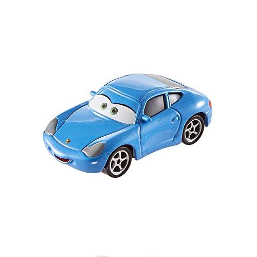 Mattel Disney Cars FJH98 Disney Cars 3 Die-Cast Sally Carrera Fahrzeug