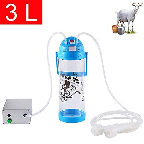 SONNIGPLUS 3L Mungitrice per Capre E Pecore Mungitrice Elettrica Portatile Mungitrice Domestica Attrezzature per Animali di Allevamento Tiralatte