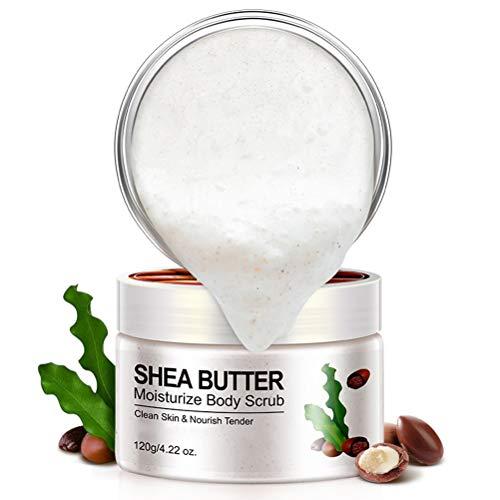 Mimiga Körperpeeling 150g Shea Butter Skin Whiten Skin Peelings Körperpflege Creme Gesichtspeeling Gesichtsreinigungscreme Körperpeeling