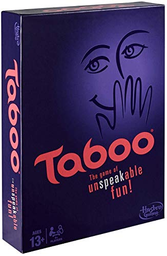 Jaynil Enterprise® Taboo The Senior Big Size Game of Unspeakable Fun for Family and Friends Board Game