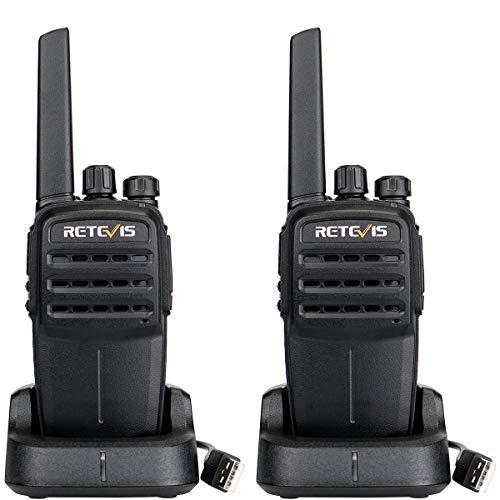 Retevis RT40 DMR Digitales Funkgerät PMR446 lizenzfrei Walkie Talkie  Digital Amateurfunk TOT VOX Kompatibel mit Motorobo TierⅠ&Ⅱ(1 Paar, Schwarz)