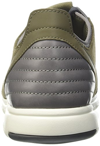 Geox U Xunday 2fit A, Scarpe Low-Top Uomo Beige