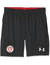 Under Armour FC St Pauli Pantalones Cortos, Infantil, Black (003), XL