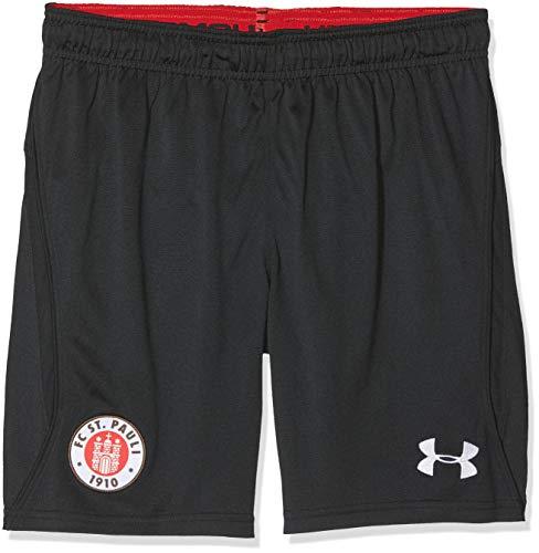 Under Armour FC St. Pauli Ausweich Replica Kinder Shorts, Black (003), YSM