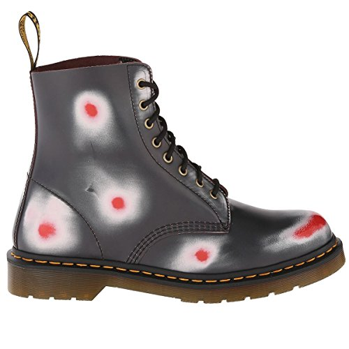 Dr. Martens Pascal Rub Off Navy/White/Red, Chaussures bateau mixte adulte