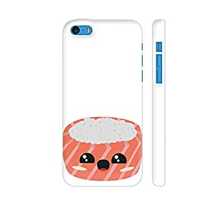 Colorpur Rice and Salmon Sushi Printed Back Case Cover for iPhone 5c