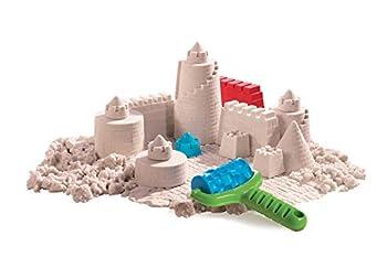 Goliath 83219 - Super-sand-set Castle, Modellierbarer Magischer Sand Bringt Burgen Ins Kinderzimmer, Handliche Sandkasten-box, Bunte Burg-förmchen, Ab 4 Jahren 7
