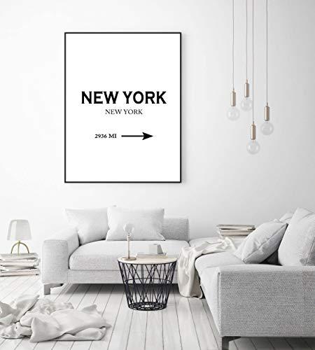 New York Druck, Poster, Wandkunst, New York City Druck, Mode moderne Poster, Geschenk, Stadt Drucke, amerikanische Städte Druck, moderne Wandaufkleber - Stadt Amerikanischen