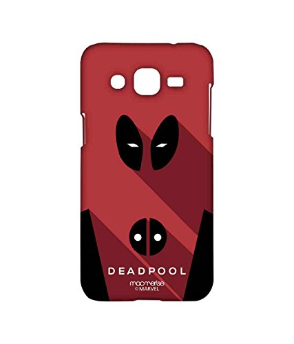 Macmerise Licensed Marvel Comics Deadpool Premium Printed Back cover Case for Samsung J2