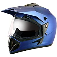Off Road D/V Dull Blue Helmet-M