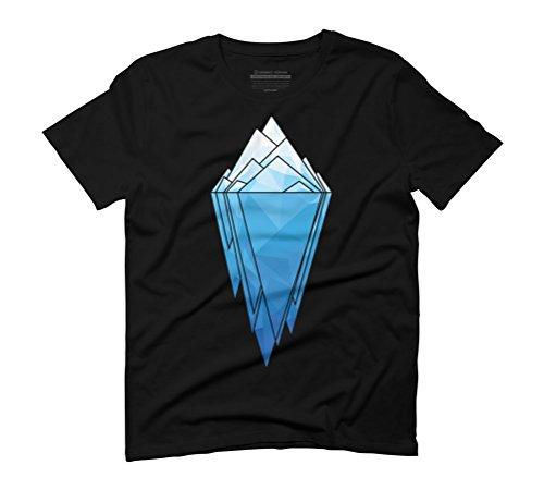 Antarctica Men's Graphic T-Shirt - Design By Humans Black