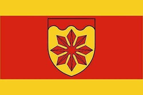 Aufnäher Rommerskirchen Fahne Flagge Aufbügler Patch 9 x 6 cm
