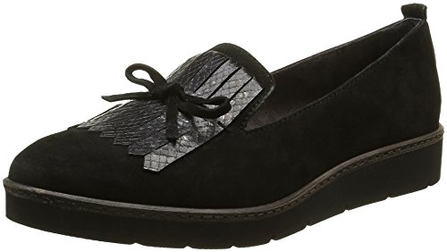Tamaris Damen 24314 Slipper, Schwarz (Black Comb 098), 39 EU