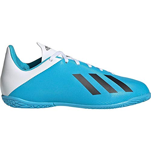 adidas Unisex-Child F35352_32 Indoor Football Trainers, Blue, EU