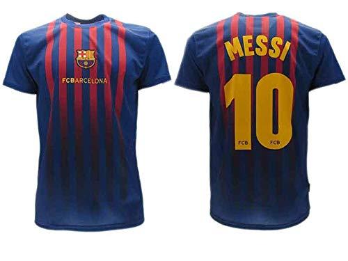 bc0ddcd3a8d05e Soccer Football T-Shirt Lionel LEO MESSI Barcelona Barça HOME Season  2018-2019 Official