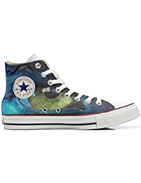 Converse All Star Customized, Sneaker Unisex, printed Italian style with eye