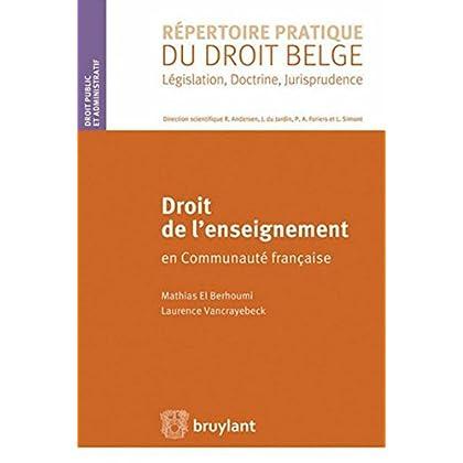 Droit de l'enseignement en Communauté française
