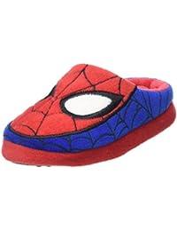 Spiderman Boys Teens Pancake Houseshoes, Mules Garçon