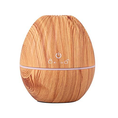 Teaio 130 ml Luftbefeuchter Ultra Leise Ultraschall Aromatherapie Luftbefeuchter Ätherische Öle Diffusor mit 7 Farben LED Humidifier Duftlampe für Kinderzimmer Wohn- Büro