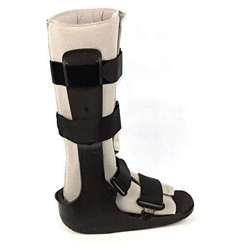 Wangxn fratture del piede boot protector lesioni recupero della protezione fratture alla caviglia,black,woman