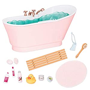 Our Generation- Bath and Bubble Set Juguete, Multicolor (BattatCo BD37473Z)