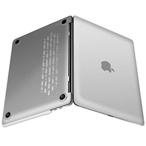 JETech Coque Apple MacBook Pro 13 Pouces 2018/2017/2016 (A1989 / A1706 / A1708), Coque Rigide, Clair de G