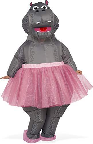 Kostüm Adult Hippo - Rubie's Rubie´s Unisex Kostüm, Mehrfarbig, NS