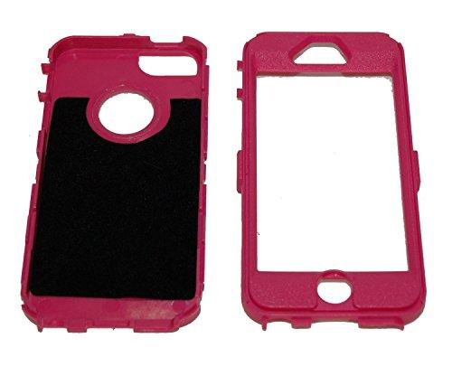 nicetime iPhone 5/iPhone 5S iPhone 6/6Plus Defender Body Armor Coque Violet sur Rose comparables à celles OtterBox Defender Series, Bleu clair, iPhone 5