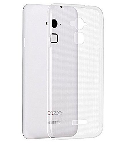 Coolpad Note 3 Back Cover Transparent Soft Silicon Plastic Designer Case by Premsons