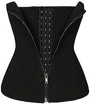 Girl Women's Double Control Waist Trainer Corset Body Shaper Tummy Control Vest Line Training Belt Slimmin