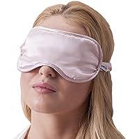 Jasmine Silk Luxus 100% Seide Schlafmaske Augenmaske Reisen Silk eye mask - Pink preisvergleich bei billige-tabletten.eu