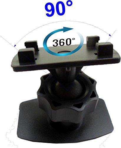 LKB02 Adhesiva montaje de rótula gira 360 °, 90 ° giratorio - soporte básico con 4 garras, universalmente como f: todos los titulares /Adapterplatten con sistema de bloqueo de 4 agujeros, montaje libre de vibraciones de las Bolsas LK30 de bicicletas, Monte portacoquillas Portaceldas placa adaptadora iGrip Splashbox (LKH9 acoplamiento rápido) por pulso 4-Apañador sistema de Herbert Richter HR 1466 Una Hama montaje giratorio Broditi placa adaptadora agarre para 4 conchas agujero