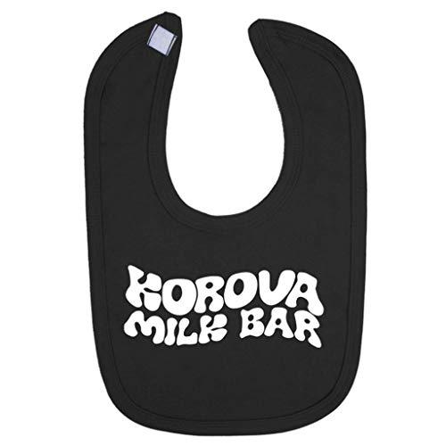A Clockwork Orange Korova Milk Bar Logo Baby And Toddler Bib