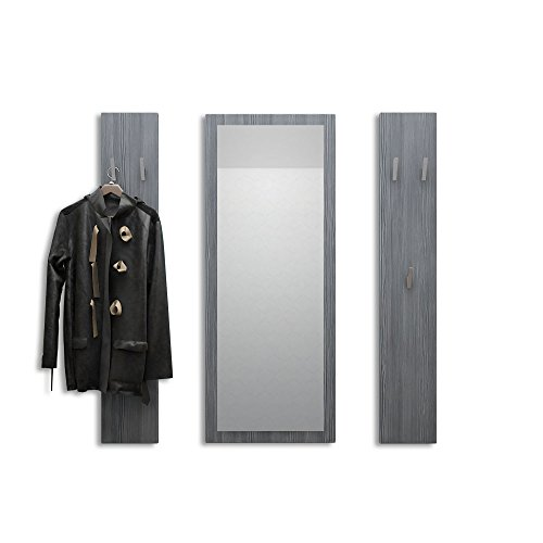 Vladon Garderobenset Garderobe Spot in Avola-Anthrazit