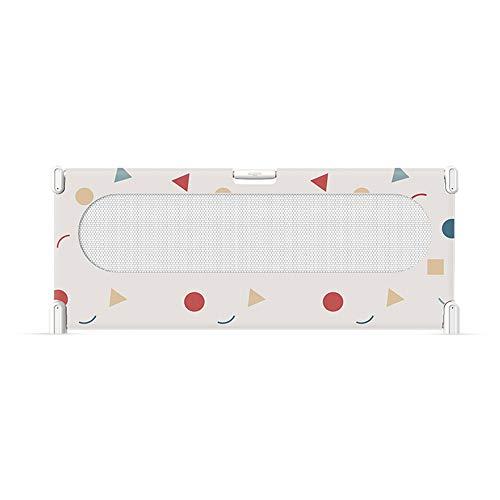 Barrière de sécurité YNN Barrière de pour Enfants GuardRail 75cm de lit pour empêcher la Chute de Chevet Grand déflecteur Rail de lit Universel (Couleur : B, Taille : 150cm)