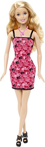 Barbie-Puppe Chic rot