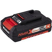 Einhell 4511395 - Batería de repuesto, tiempo de carga 30 min, 2.0 Ah, 18 V, color negro y rojo