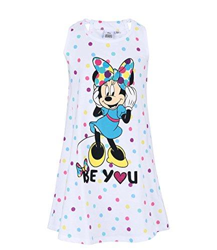 Disney Minnie Mädchen Nachthemd - weiß - 104